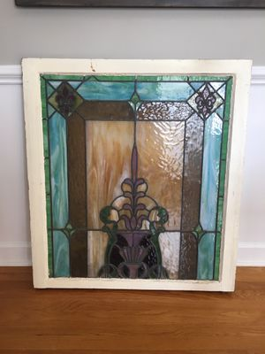Antique Stain Glass Window for Sale in Cary, NC