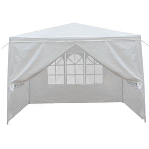 10x10 Carport Garage Car Shelter Canopy Party Tent Sidewall with Windows White for Sale in Lake Elsinore, CA