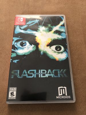 Nintendo Switch Game- Flashback for Sale in Corona, CA