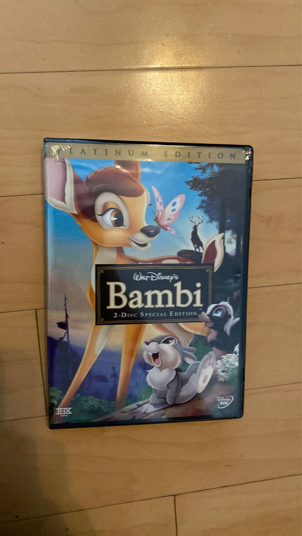 Movie (Bambi platinum edition and two disk edition)
