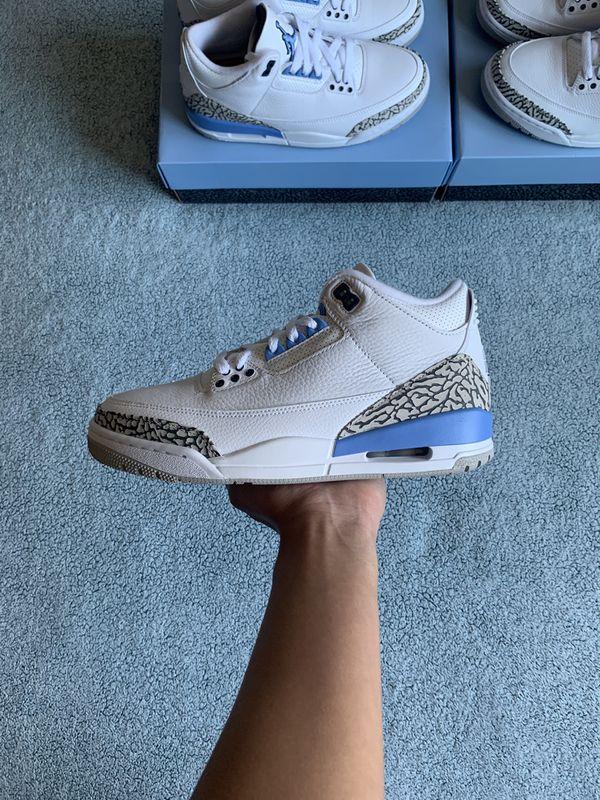 Jordan 3 UNC Size 12