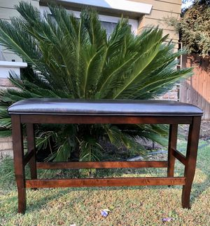 ⭐️New furniture of America Expresso Counter Height Bench. P/U by ASHLAN AND TEMPERANCE IN CLOVIS for Sale in Clovis, CA