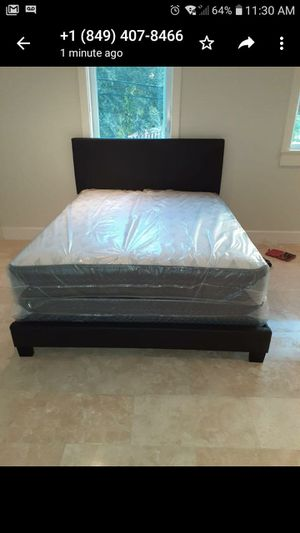 Bed Mattress and box. Brand new for Sale in Flamingo, FL