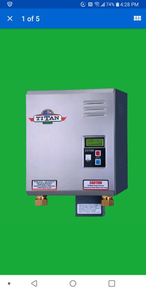 Titan tankless water heater for Sale in Fort Lauderdale, FL