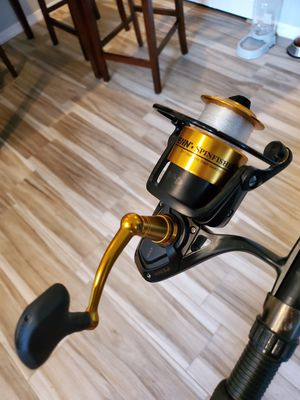 Like New Penn Spinfisher V 4500 fishing reel for Sale in Tampa, FL