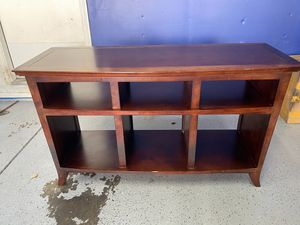 Real wood console table for Sale in San Francisco, CA