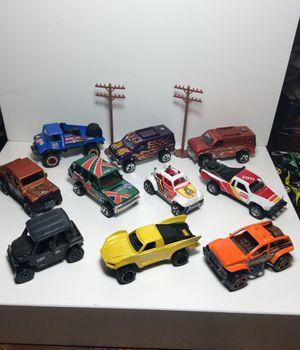 Hot Wheels 4x4 of road collection Baja desert trophy trucks kids toys man cave VW bug Van all terrain for Sale in Chula Vista, CA