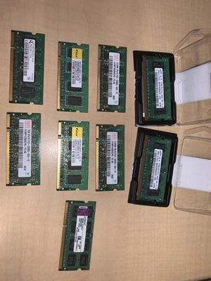 Ram sticks 512mb to 2Gb all for $20 for Sale in Henderson, NV