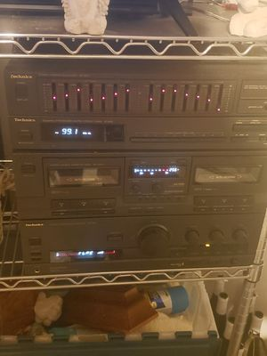 Technic Stereo and tower speakers - HARD TO FIND $200 for Sale in Houston, TX