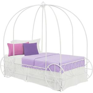 Girls Carriage twin bed frame for Sale in Clovis, CA