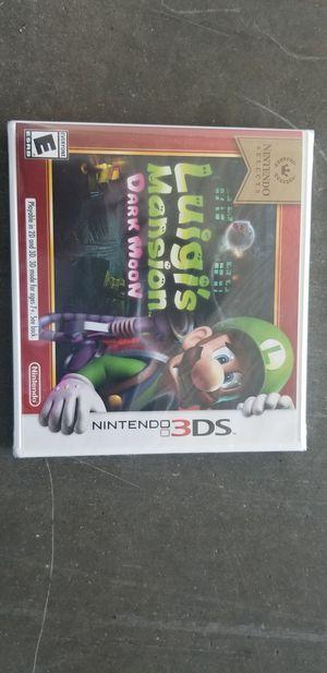 Nintendo 3DS Luigi's Mansion Dark Moon *Brand New* for Sale in Atascocita, TX