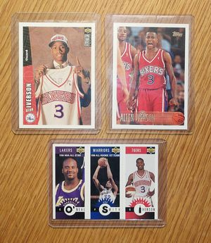 Allen Iverson rookie cards for Sale in Charlotte, NC