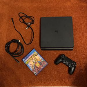 PS4 Slim 500gb 1 Game 1 Controller for Sale in Spring, TX