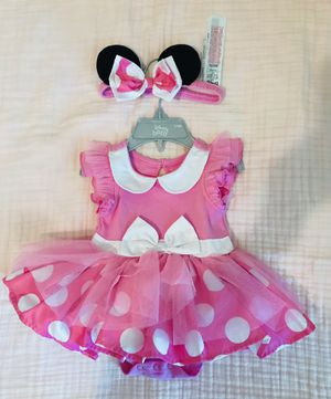 Minnie Mouse Baby Dress Costume for Sale in Fort Worth, TX