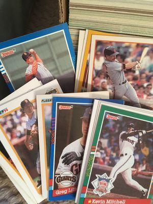 Donruss, fleer, upper-deck, baseball cards for Sale in Milwaukie, OR