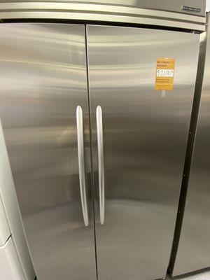 KitchenAid 2 Door Side By Side Stainless Steel Refrigerator Built In for Sale in Signal Hill, CA