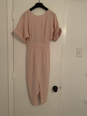 Pink midi dress - size 0 for Sale in Dallas, TX