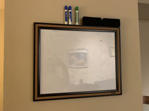Whiteboard + markers + erasers for Sale in Kirkland, WA