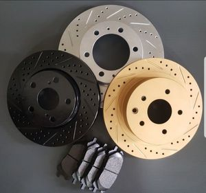 Cross Drilled and/or Slotted Brake Rotors + Pads Package   Available For All Vehicles for Sale in Norco, CA