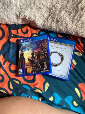 Kingdom Hearts III & Elder Scrolls Online PS4 for Sale in Winter Park, FL