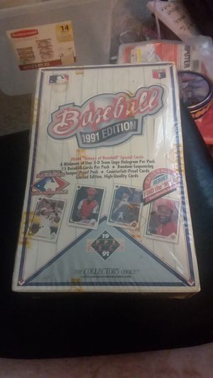 **NEW** 1991 Edition Upper Deck The Collectors Choice Baseball Cards Set for Sale in Tempe, AZ