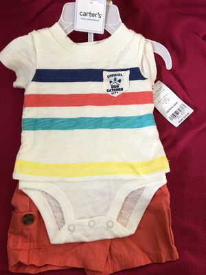 Baby 2 piece clothing set, brand new with tags Carter's for Sale in East Los Angeles, CA