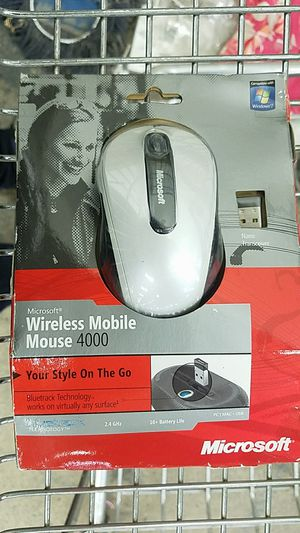 New Microsoft Wireless Mobile Mouse 4000 for Sale in Pittsburgh, PA
