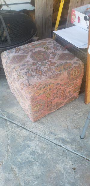Small square ottoman for Sale in La Mirada, CA