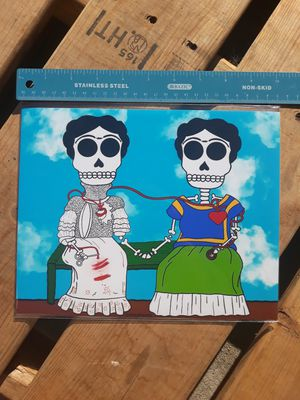 "Frida Kahlo Day of the Dead 8""x10"" Print for Sale in Los Angeles, CA"