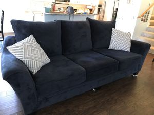 Blue couch for Sale in BETHEL, WA