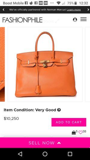 Hermes Togo Berkin 35 Tote bag for Sale in Carson, CA