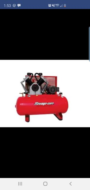 Snap-On 120 Gallon Air Compressor for Sale in Westerville, OH