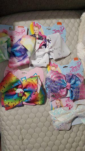 $5 each jojo siwa bows new for Sale in Las Vegas, NV
