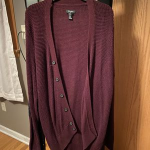 Men's Forever 21 XL elbow patch Cardigan for Sale in Milwaukee, WI