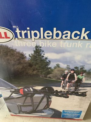 Bell Car trunk bike rack for Sale in Portland, OR