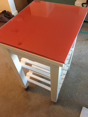 Rolling counter/bar cart for Sale in Alexandria, VA