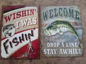 Fishing signs for Sale in Owego, NY