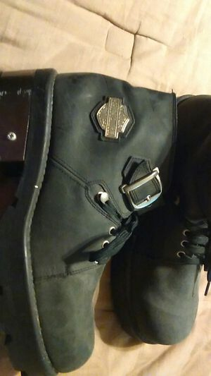 Harley Davidson boots 13 USA Hardly ever worn for Sale in Las Vegas, NV