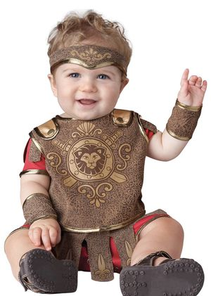 InCharacter Baby Gladiator Infant Halloween Costume 6-12 Months for Sale in Las Vegas, NV