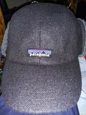 Patagonia recycled wool ear flap cap for Sale in Escondido, CA