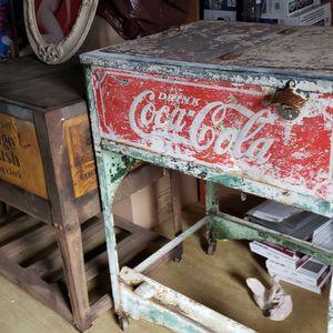 VINTAGE ORANGE CRUSH AND COKE COOLER for Sale in Mount Vernon, WA
