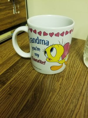 Tweety Bird cartoon coffee cup for Sale in West Palm Beach, FL