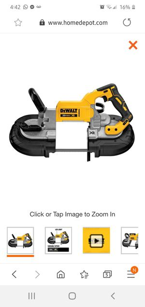 Dewalt 20V MAX XR Cordless Lithium-Ion 5 in. Band Saw (Tool Only) for Sale in Dumfries, VA