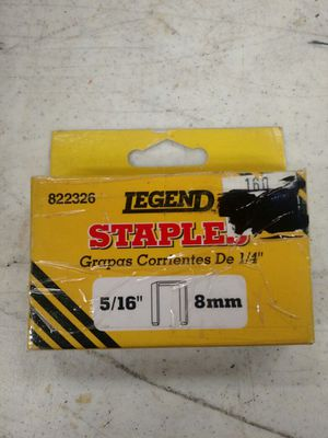 Staples 5/16 8mm for Sale in Fort Lauderdale, FL
