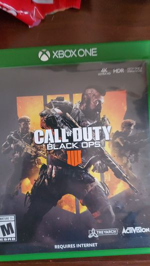 Black ops 4 xbox one for Sale in Campbellsport, WI
