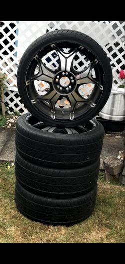 "20"" Rims brand new tires for Sale in Renton,  WA"