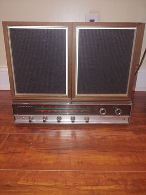 Panasonic RE-7670 receiver and speakers vintage for Sale in Savannah, GA