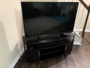 Thoshiba 49 HD TV with TV stand for Sale in Morrisville, NC