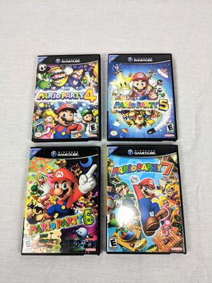 Nintendo Game Cube Lot Mario Party 4,5,6,7 in Excellent Condition for Sale in Eldersburg, MD