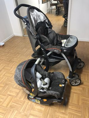 Car seat and stroller for sale for Sale in Sterling Heights, MI